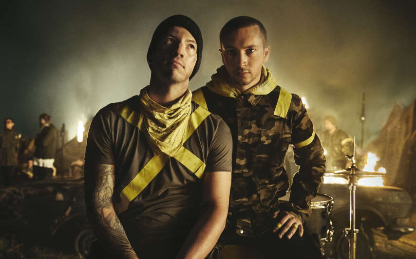 Twenty One Pilots press photo (7.10.18) credit Brad Heaton (1)